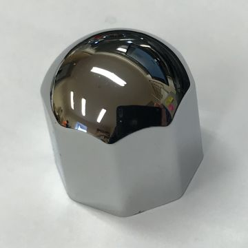 Large Chrome Octal Knob (D Shaped Shaft fitting)