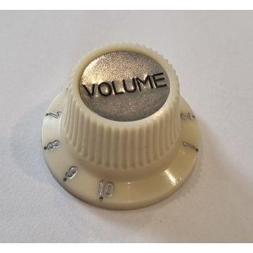 Hofner Spares Cream Volume Knob
